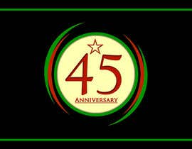 #18 para Logo design for the 45th anniversary banquet por mdtanveer78692