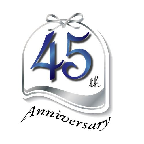 Konkurrenceindlæg #26 for Logo design for the 45th anniversary banquet