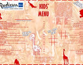 #3 for Kids Menu in A3 by AkaneTenshi