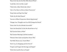 hberholtz13 tarafından Need One Line Quotes için no 21