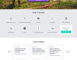 pixelwebplanet tarafından Design of home page plus 2 main pages in Photoshop için no 18