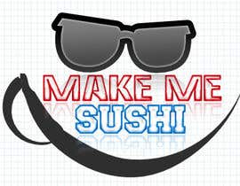 "nº 49 pour Design a Logo for 'MAKE ME SUSHI"" - repost par ammar1235"
