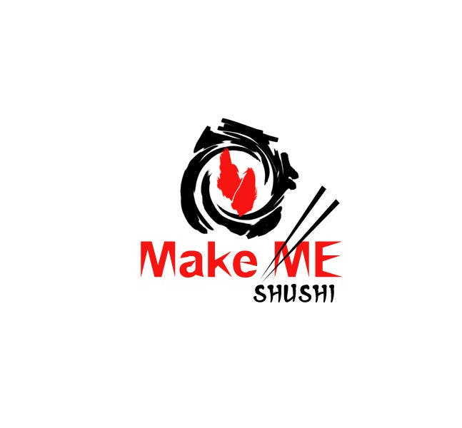 "Contest Entry #42 for Design a Logo for 'MAKE ME SUSHI"" - repost"