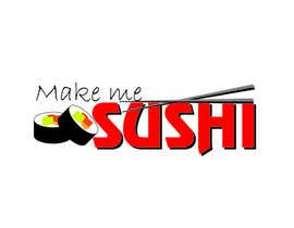 "#47 for Design a Logo for 'MAKE ME SUSHI"" - repost by ely0313"