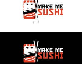 "#39 for Design a Logo for 'MAKE ME SUSHI"" - repost by creationofsujoy"