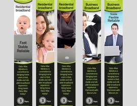 #16 para Design a Banner for Internet Company por prefetchhabib