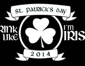 nº 13 pour Design a T-Shirt for St. Patty's Day par ChrisFlannery
