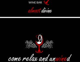 #36 for Design a T-Shirt for a Wine Bar by shadyivlife