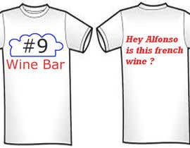 #3 for Design a T-Shirt for a Wine Bar by husarvasile