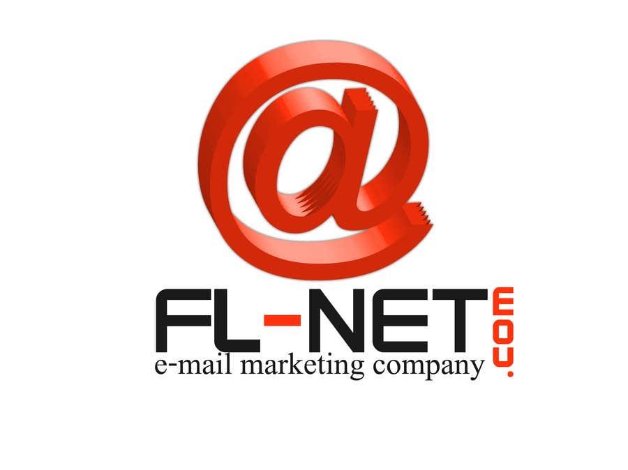 Design a logo for FL-NET için 3 numaralı Yarışma Girdisi