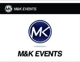 "#75 cho Logo for ""M&K Events"" bởi TheAVashe"