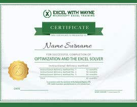 amrelassalart tarafından I need some Graphic Design for a certificate için no 2