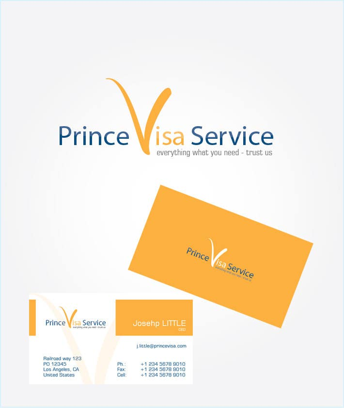 #236 for Logo Design for Prince Visa Service by r3x