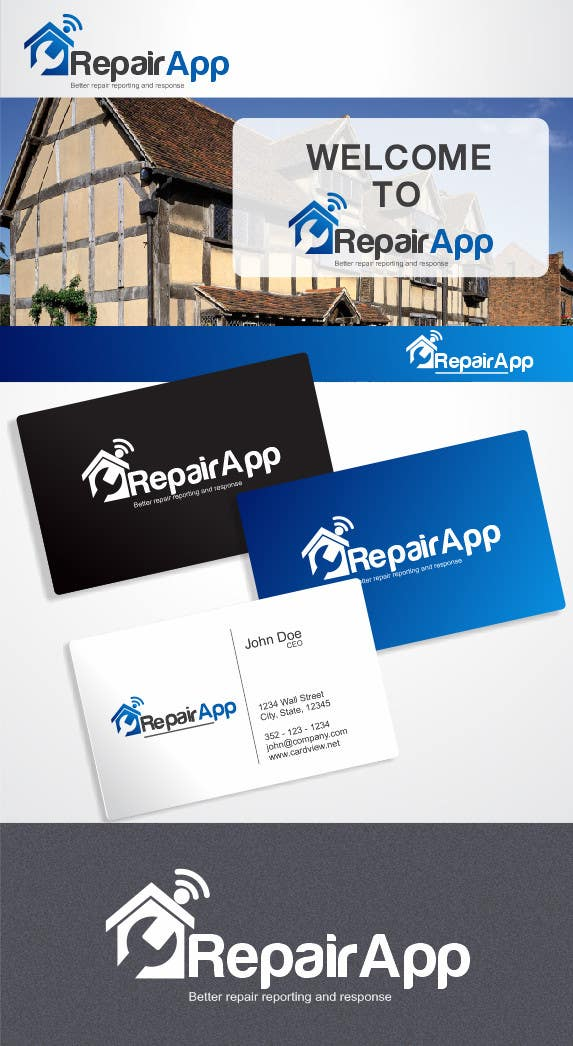 #488 for Logo Design for RepairApp by ulogo