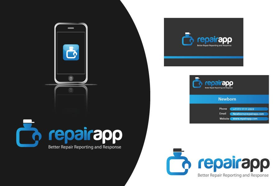 #294 for Logo Design for RepairApp by danumdata