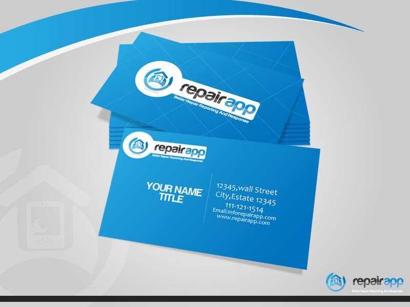 #448 for Logo Design for RepairApp by rraja14