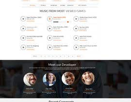 MagicalDesigner tarafından Template redesign for www.gamesdbase.com için no 6