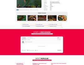 descomgroup tarafından Template redesign for www.gamesdbase.com için no 18