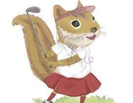wpurple tarafından Teenage Golfing Female Squirrel için no 5