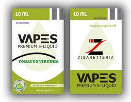 #6 for Create labels and box design for eliquid company by cdinesh008