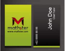 #1 untuk Design some Business Cards for Mathster.com oleh ARUNVGOPAL
