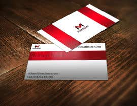 #24 untuk Design some Business Cards for Mathster.com oleh guillaumejd