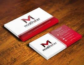 #13 para Design some Business Cards for Mathster.com por pointlesspixels