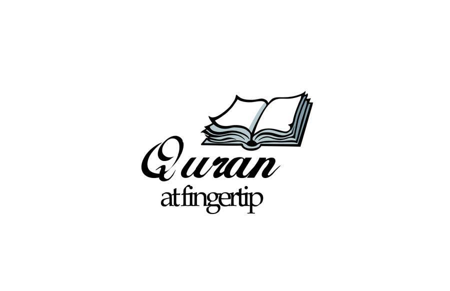 Konkurrenceindlæg #32 for Design a Logo for Quran at Fingertip