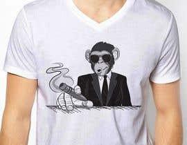 jiamun tarafından Design funny animal t-shirt için no 20