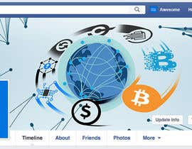 geraldgremi tarafından Design a Facebook Cover for Cryptocurrency Exchange Website için no 24