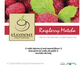 adroitdevisor tarafından Create Fun Label for Flavored Matcha Tea! için no 7