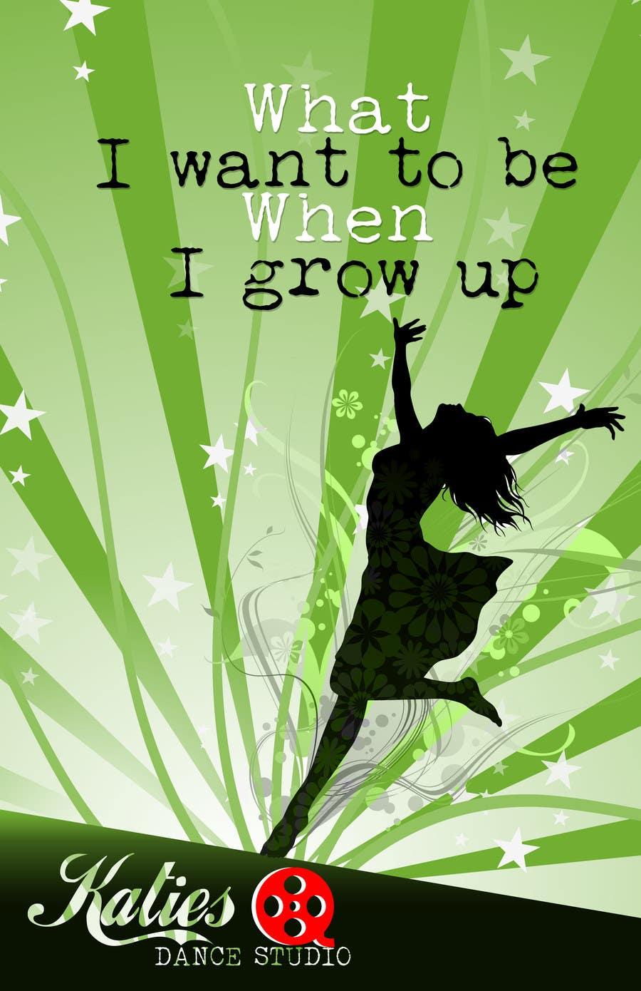 Konkurrenceindlæg #17 for Dance Studio Poster