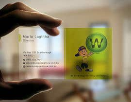 mdahmed2549 tarafından Design a Business Card and modify logo as a STICKER on a funky light bus. card için no 28
