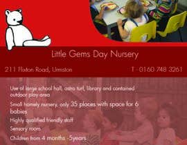 #1 para Urgent Design for a flyer for a Nursery por KirstyNimmo