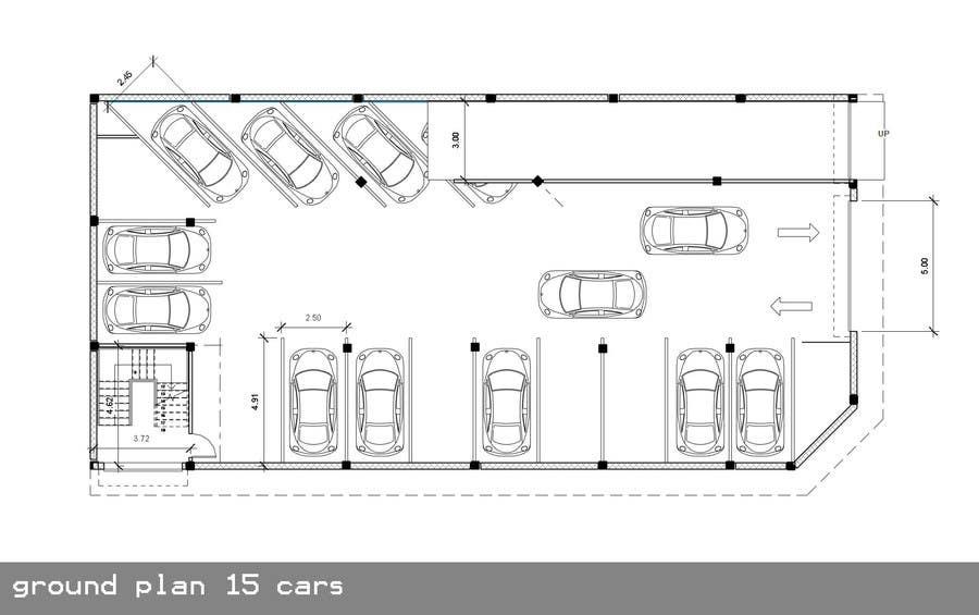 Basment Parking Floor Plan Design Freelancer