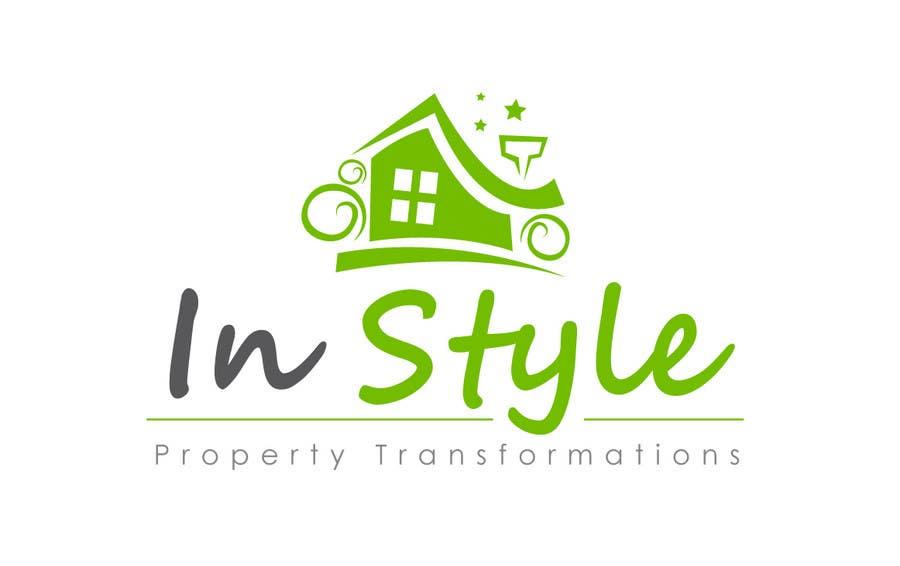 """Intrarea #220 pentru concursul """"Logo Design for InStyle Property Transformations"""""""
