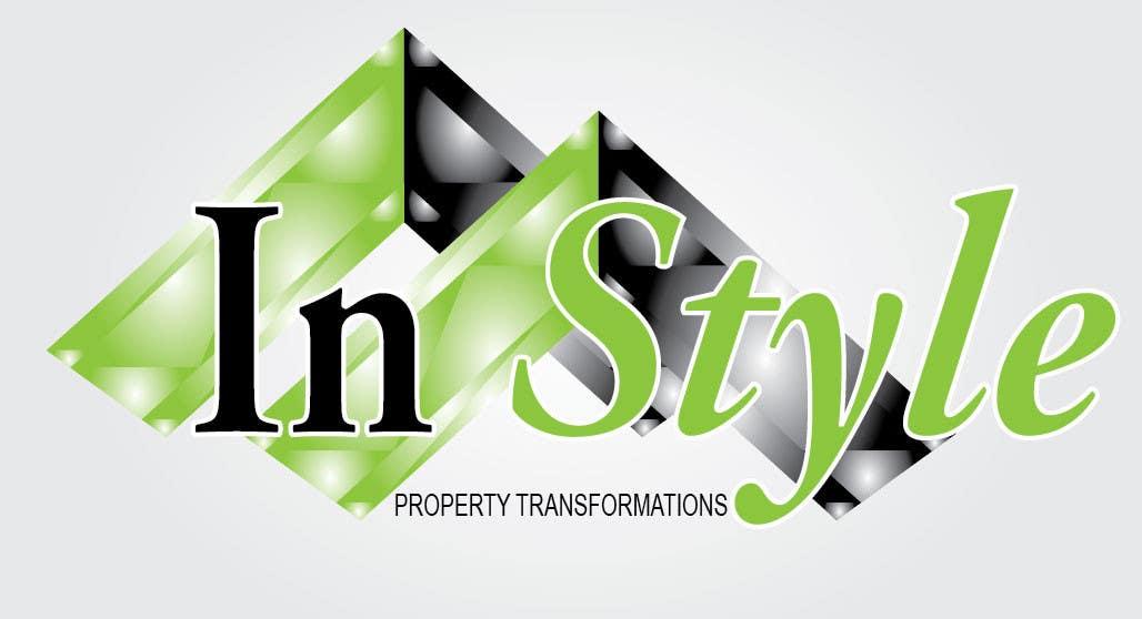 """Intrarea #218 pentru concursul """"Logo Design for InStyle Property Transformations"""""""