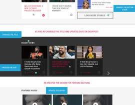 designcreativ tarafından Upgrade a website design (PSD) için no 46