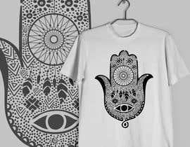 #7 for Fatime Hand Design for Case & Shirt by karenli9