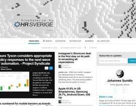 Nro 36 kilpailuun Designa en banner for hrnyheter.se käyttäjältä Cobot