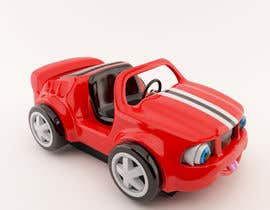#34 untuk Do some 3D Modelling - Create Kiddie Ride - Race Car oleh peterkunstbahn