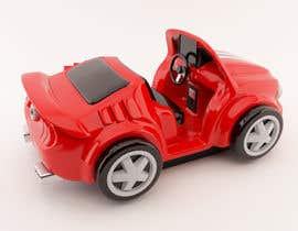 #42 untuk Do some 3D Modelling - Create Kiddie Ride - Race Car oleh peterkunstbahn