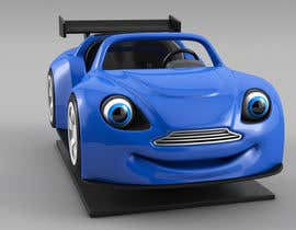 #44 untuk Do some 3D Modelling - Create Kiddie Ride - Race Car oleh franetta