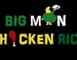Nro 29 kilpailuun Design a Logo for BIG MAN CHICKEN RICE käyttäjältä dipanshuawasthi