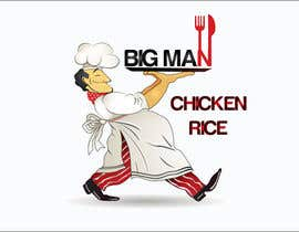 nº 14 pour Design a Logo for BIG MAN CHICKEN RICE par Rokayafet