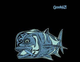 #74 for Design for Fish GoodKaze af abdolilustrador