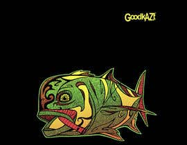 #77 for Design for Fish GoodKaze af abdolilustrador