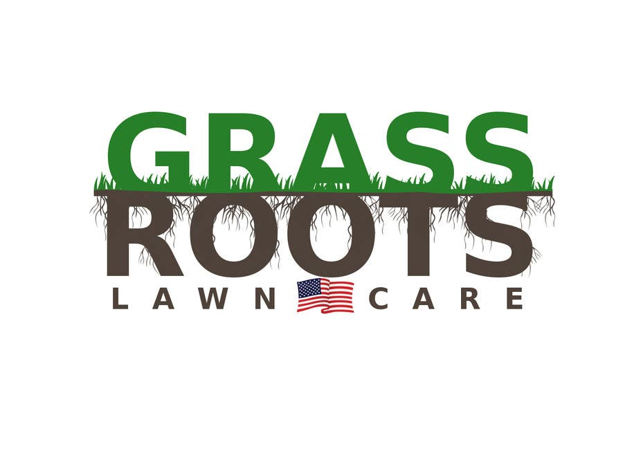 "Konkurrenceindlæg #16 for Logo for  ""Grass Roots Lawn Care"""