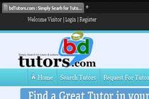 Graphic Design Конкурсная работа №148 для Logo Design for bdtutors.com (Simply Search for tutors & tuitions )