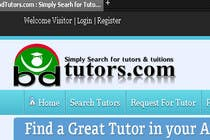 Graphic Design Contest Entry #146 for Logo Design for bdtutors.com (Simply Search for tutors & tuitions )